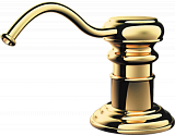 Дозатор для моющего средства OMOIKIRI OM-01-G латунь/золото - Апис плюс