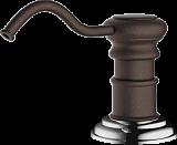 Дозатор для моющего средства OMOIKIRI OM-01-DC латунь/темный шоколад - Апис плюс
