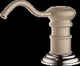 Дозатор для моющего средства OMOIKIRI OM-01-SA латунь/бежевый - Апис плюс
