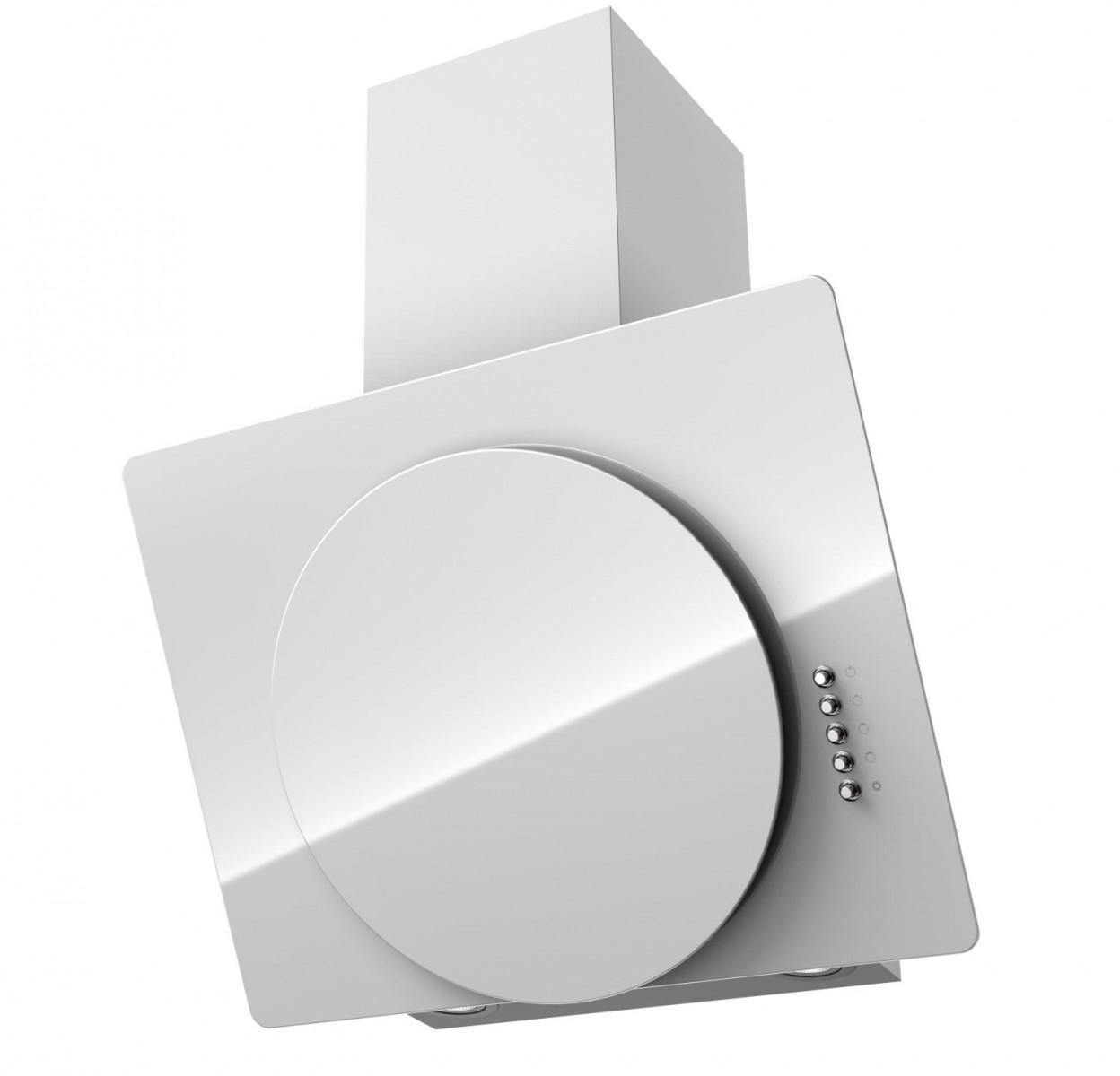 Вытяжка KRONA FINA 600 WHITE PB - Апис плюс