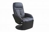 Кресло HALMAR OPTIMA черное - Апис плюс