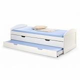 Кровать HALMAR LAGUNA белая - Апис плюс