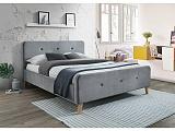 Кровать SIGNAL MALMO VELVET серый, 160/200 NEW 19 - Апис плюс