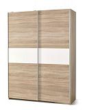 Шкаф HALMAR LIMA S1 раздвижной, дуб сономабелый, 153/58/210 - Апис плюс