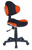 Кресло компьютерное SIGNAL Q-G2 оранжевочерное - Апис плюс