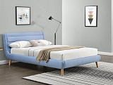 Кровать HALMAR ELANDA синий, 140/200 NEW - Апис плюс