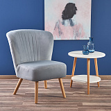 Кресло HALMAR LANISTER светло-серый NEW - Апис плюс