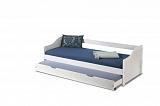 Кровать HALMAR LEONIE 2 белый, 90/200 NEW - Апис плюс