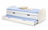 Кровать HALMAR LAGUNA 2 белый, 90/200 NEW - Апис плюс