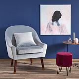 Кресло HALMAR OPALE серый NEW - Апис плюс