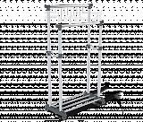 Вешалка Sheffilton CH-4149 т.серый/св.серый/хром - Апис плюс