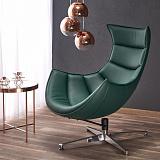 Кресло HALMAR LUXOR зеленый NEW - Апис плюс