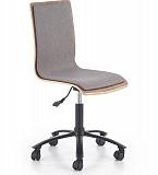 Кресло компьютерное HALMAR JACK грецкий орех/серый NEW - Апис плюс