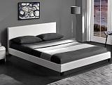Кровать HALMAR PAGO белый, 160/200 NEW - Апис плюс