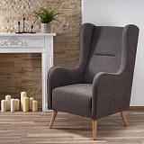 Кресло HALMAR CHESTER темно-серый NEW - Апис плюс