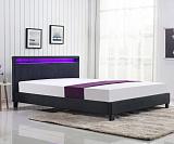 Кровать HALMAR ARDA темно-серый, 160/200 NEW - Апис плюс