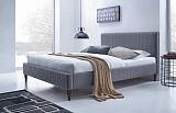 Кровать HALMAR FLEXY 160х200 пепельная - Апис плюс