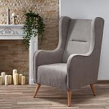 Кресло HALMAR CHESTER светло-серый NEW - Апис плюс
