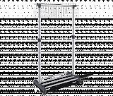 Вешалка Sheffilton CH-4345 т.серый/св.серый/хром - Апис плюс
