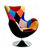 Кресло HALMAR BUTTERFLY PATCHWORK - Апис плюс