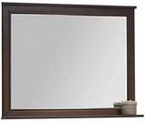 Зеркало Акватон ИДЕЛЬ 105 дуб шоколадный - Апис плюс