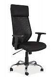 Кресло компьютерное SIGNAL Q-211 черное - Апис плюс