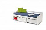 Кровать HALMAR FLORO 2 белый, 90/200 NEW - Апис плюс