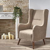 Кресло HALMAR CHESTER бежевый NEW - Апис плюс