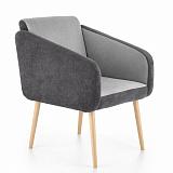 Кресло HALMAR WELL темно-серый/светло-серый NEW - Апис плюс