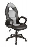 Кресло компьютерное SIGNAL Q-057 черносерое  - Апис плюс