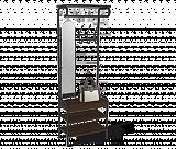 Вешалка Sheffilton M-3026 венге/черный - Апис плюс