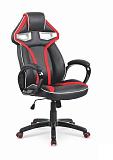 Кресло компьютерное HALMAR HONOR черно-красный - Апис плюс