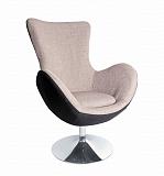 Кресло HALMAR BUTTERFLY серый - Апис плюс