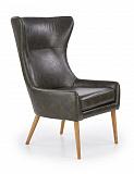 Кресло HALMAR FAVARO темно-коричневый NEW - Апис плюс
