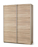 Шкаф HALMAR LIMA S1 раздвижной, дуб сонома, 153/58/210 - Апис плюс