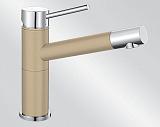 Смеситель BLANCO ALTA-S Compact хром/шампань - Апис плюс