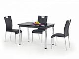 Стол обеденный HALMAR L31, раскладной, черный, 110-170/74/76 - Апис плюс