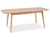 Стол обеденный SIGNAL FELICIO раскладной, дуб 120-150/75/75 - Апис плюс