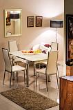 Стол обеденный SIGNAL GD082 крем - Апис плюс