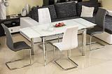Стол обеденный SIGNAL GD020 белый 80X120    - Апис плюс