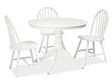 Стол обеденный SIGNAL WINDSOR белый  - Апис плюс