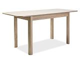 Стол обеденный SIGNAL DIEGO 120 дуб сонома, 120/68/75 NEW - Апис плюс