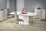 Стол обеденный HALMAR ELIAS белый, 180/90/76 - Апис плюс
