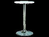 Стол барный SIGNAL B500 белый - Апис плюс