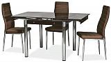 Стол обеденный SIGNAL GD082 коричневый - Апис плюс