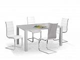 Стол обеденный HALMAR RONALD серый, 120/80/75  - Апис плюс