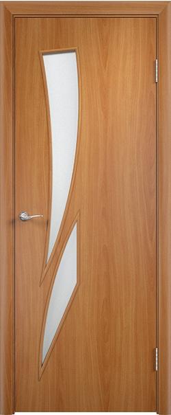 Межкомнатная дверь  С2 ДО 800*2000 Миланский орех серия Ламинированные из МДФ    - Апис плюс