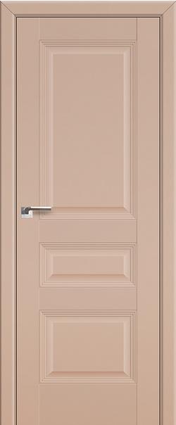 Межкомнатная дверь  66U 800*2000 Капучино сатинат серия ProfilDoors серия U Классика из экошпона   - Апис плюс