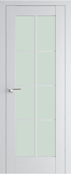 Межкомнатная дверь  101Х матовое 800*2000 Пекан белый серия ProfilDoors серия X Классика из экошпона   - Апис плюс