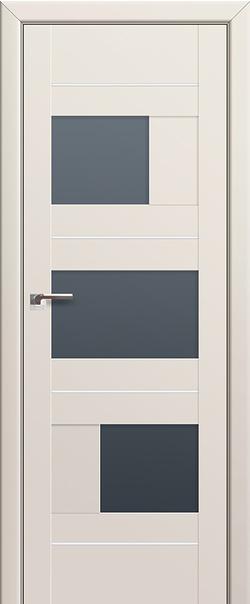 Межкомнатная дверь  39U графит 800*2000 Магнолия сатинат AL серия ProfilDoors серия U Модерн из экошпона   - Апис плюс